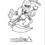 kleurplaat-ninja-go-cole