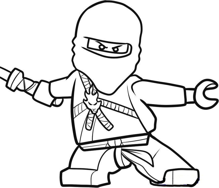 lego ninjago kleurplaat - xdata.fr