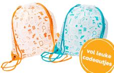 gratis babyspullen: ouders van nu schooltas